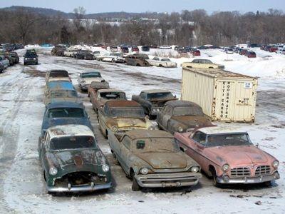 Heavy Equipment Salvage Yards Ohio Big Truck Salvage Yard