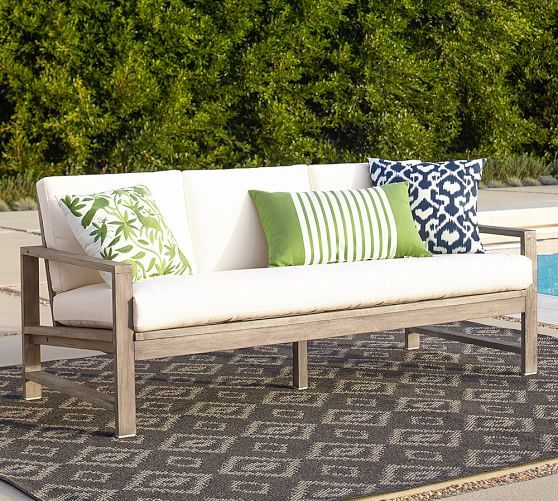 Indio Sofa Pottery Barn Conservatory Furniture Outdoor Lounge Outside Deck