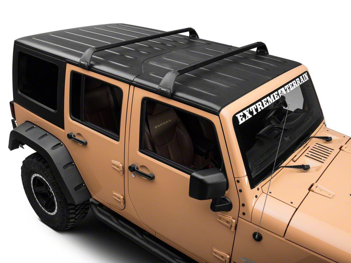 rhino rack 2007 2017 jeep wrangler 4dr