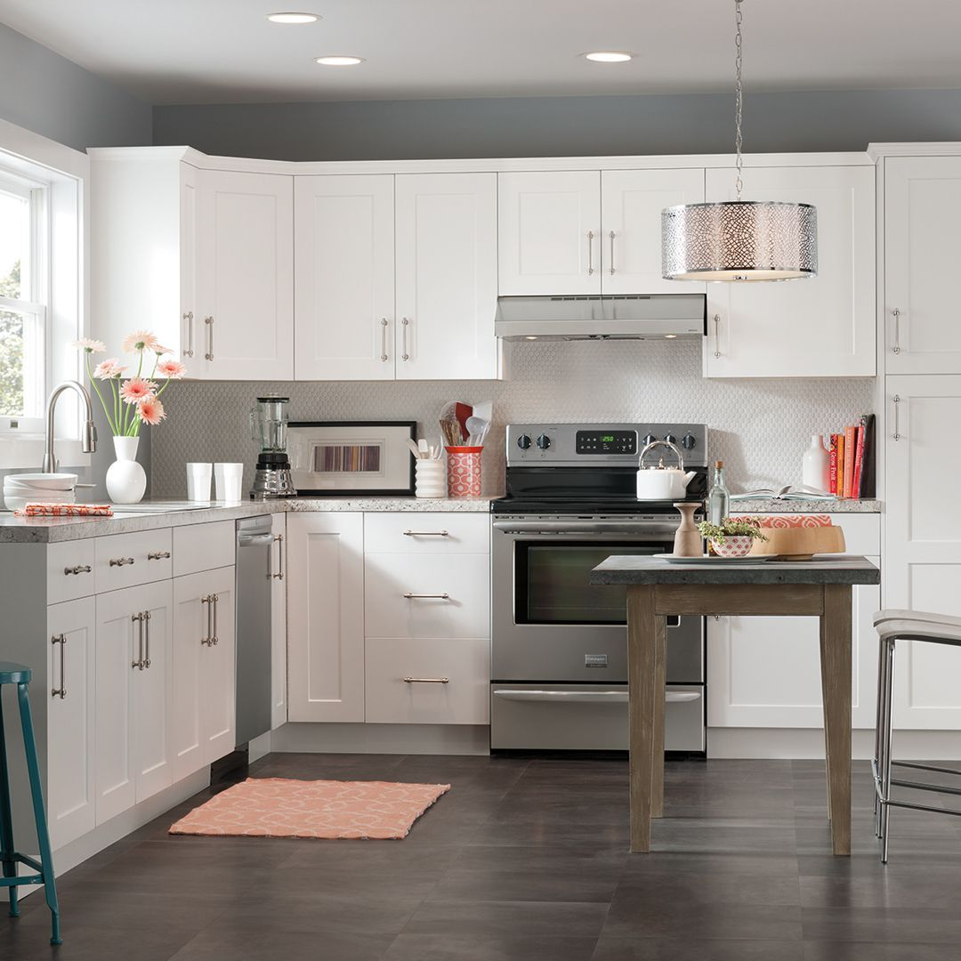 Perfect Vanilla Shaker Cabinets Lowes And Review Black Kitchen Decor Kitchen Decor Kitchen Design Small