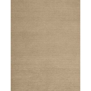 RUGGABLE Washable Solid Natural Replacement Area Rug Cover (8' x 10')