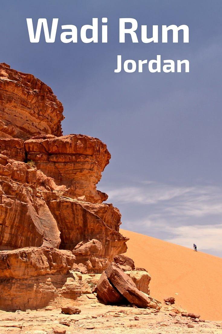 Wadi Rum, Jordan: 4WD in a desert with striking contrasts #wadirum
