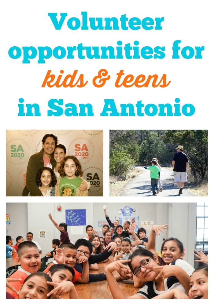 For volunteer teens opportunity