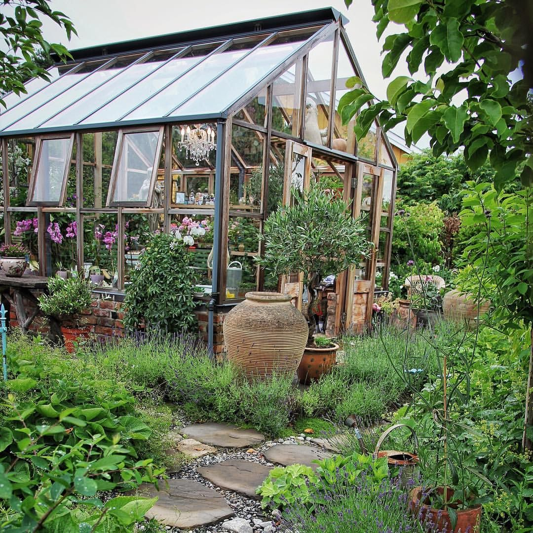 "1,034 gilla-markeringar, 39 kommentarer - Christin (@corneliasverden) på Instagram: ""...when it's summer in my garden there's a big green difference...from my winter garden today…"""