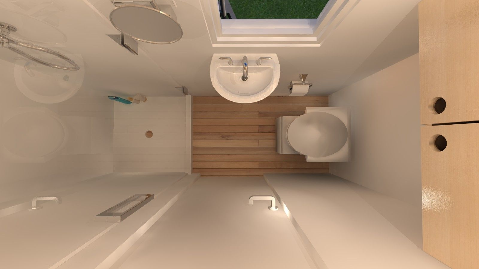 Just Got A Little Space These Small Bathroom Designs Will Inspire You Tinyhousebathroom Very Small Bathroom Small Shower Room Tiny Bathrooms