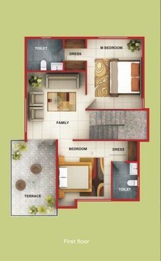 Pin By Girish On Home 2 Duplex Floor Plans