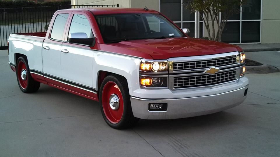 New Chevy Silverado Modified To Look Like A Vintage Truck By Mallet Cars Ltd