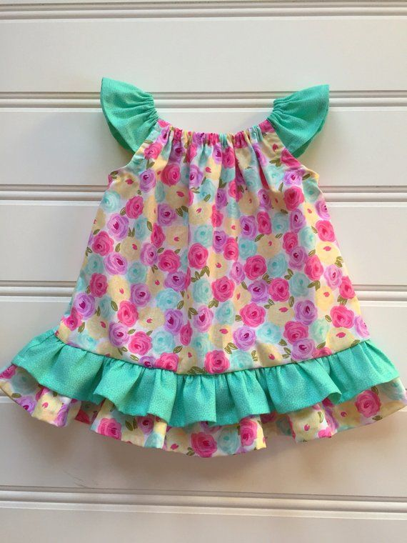 4c26fa3318b Floral Easter Dress for Girl