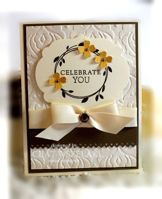 Stampin Up Custom Order Birthday Card Stampin Up Cards Stampin