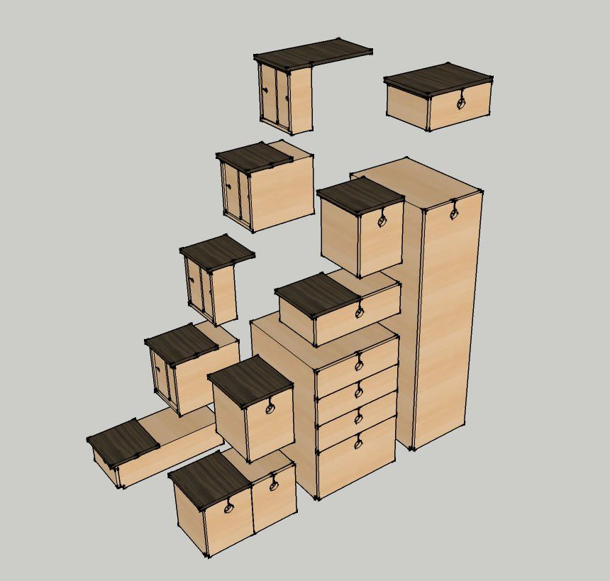 Best Alternating Step Tansu Tiny House Stairs With Images 640 x 480