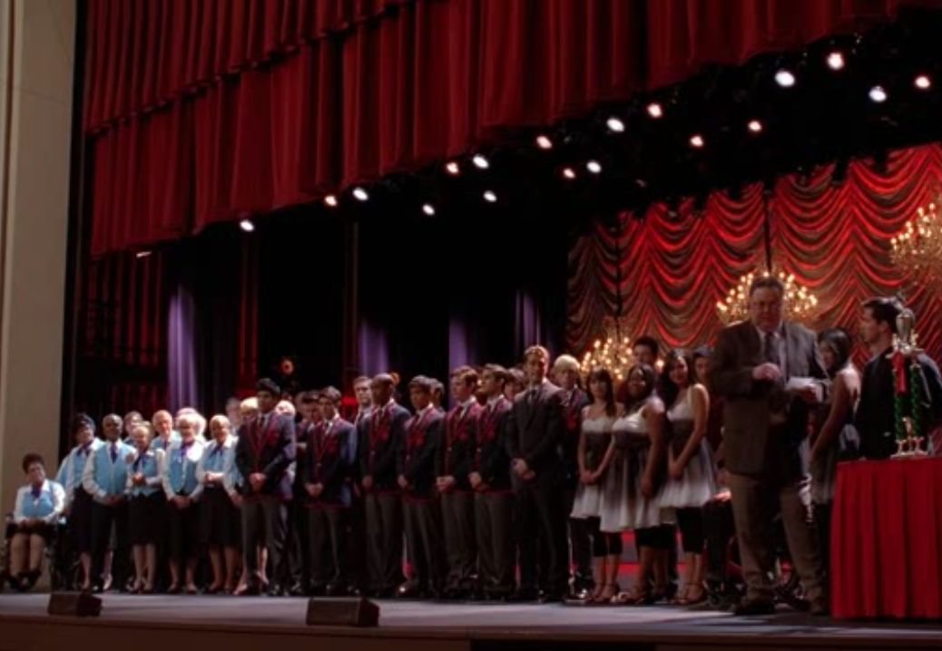 2x9 Special Education - Sectionals | Glee | Glee, Special