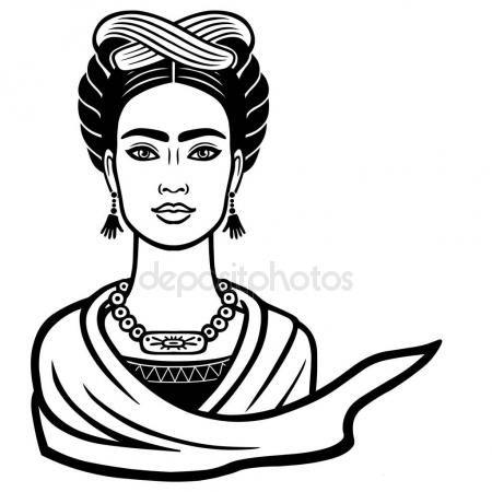 Resultado De Imagen Para Vectores De Frida Kahlo Frida Kahlo