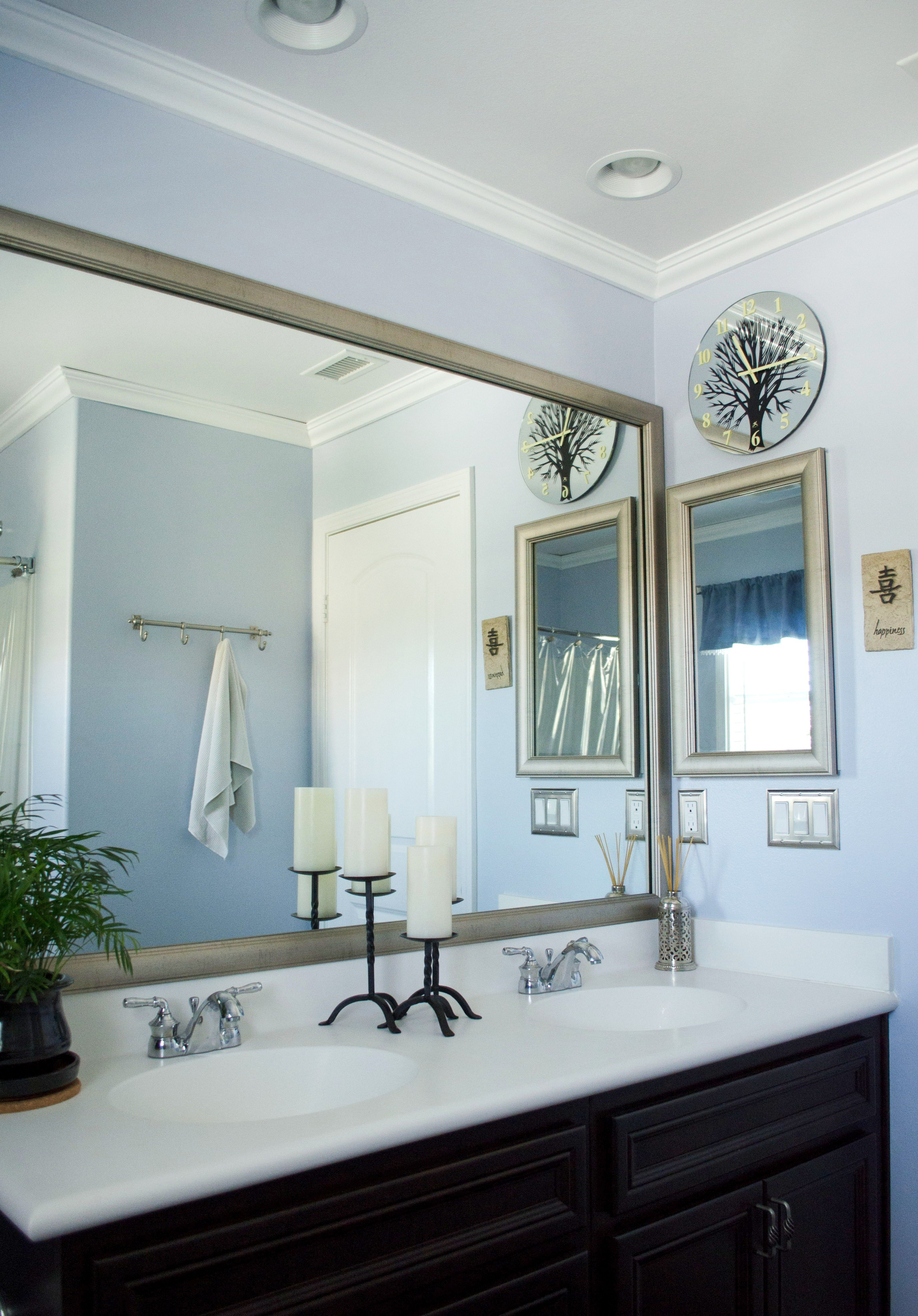 Customer submitted mirror makeover photo mirrormate