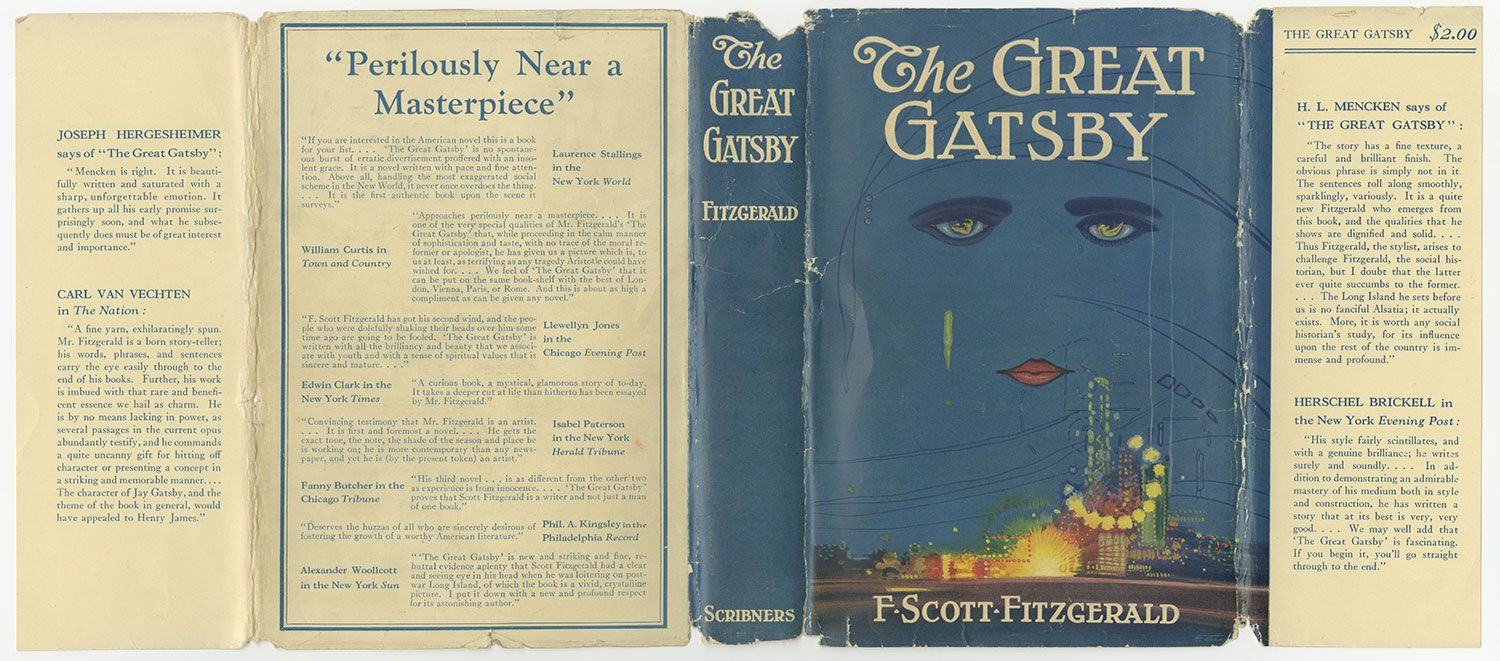 the reflection of f scott fitzgeralds life and personality in his novel the great gatsby Which scott fictionalised in his novel, the great gatsby  believed the fitzgeralds to live a life of the f scott and zelda fitzgerald museum opened.