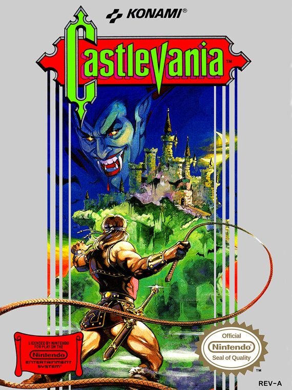 Castlevania 18 X 24 Video Game Poster Posters Pinterest