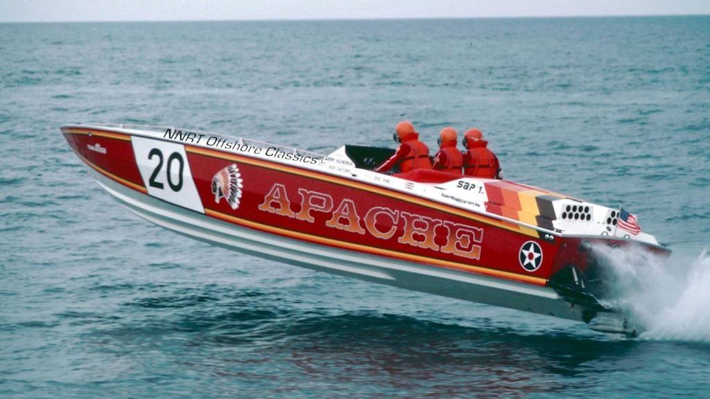 vintage cigarette boat publicly