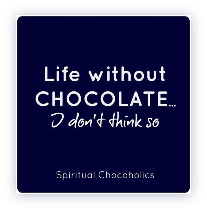 Life without Belfine chocolate... (met