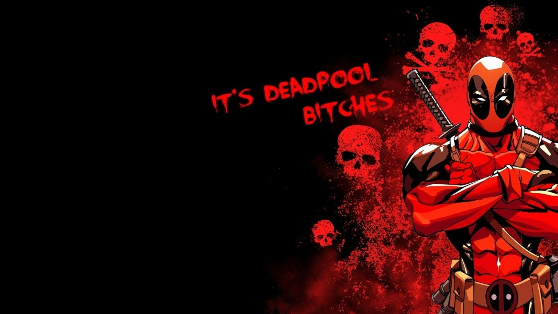 10 top deadpool wallpaper 1920x1080 hd full hd 1080p for for Deadpool wallpaper 1920x1080