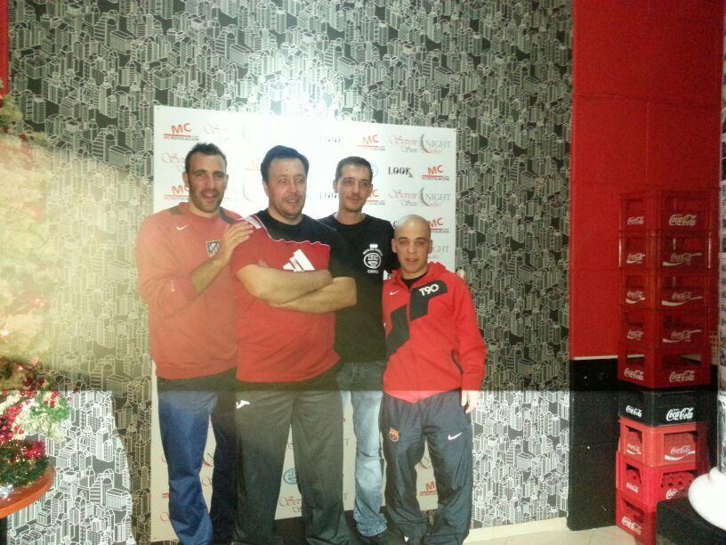 Ángel Luis Cobo y Adrián Ramírez vencieron en el trofeo de navidad de futbolín disputado en el Pub Zeus de la localidad Conquense de Mota del Cuervo