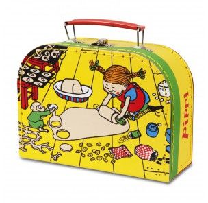 Pippi Langstrømpe - Pippi kuffert 20 cm. - Sundleg.dk