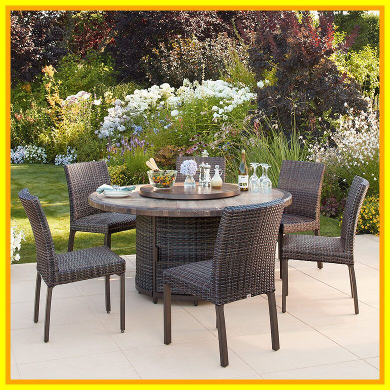 Springdale 7 Piece Patio Bar Height Dining Set With Fire Table - Patio Ideas