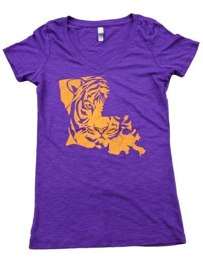 Tiger State. storyvilleapparel.com - - - -LSU TIGERS - LSU TIGERS colors purple & gold - Louisiana State University
