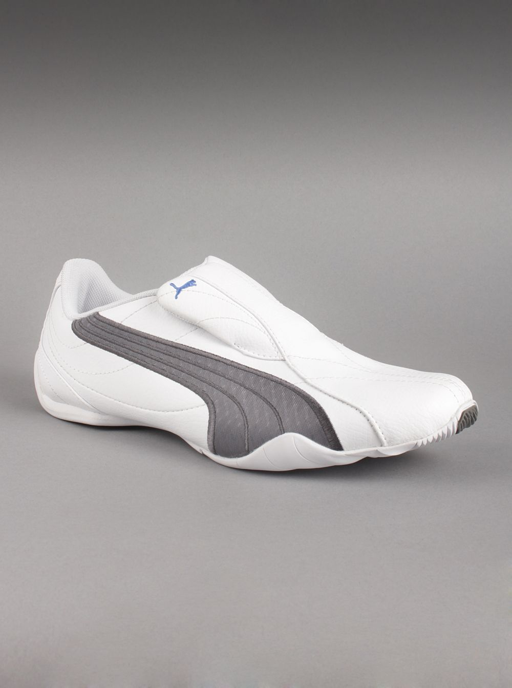10af35223ef Puma® Men s Tergament Sport Sneakers in White Grey Stripe. If you enjoy a  futuristic look with a low profile design