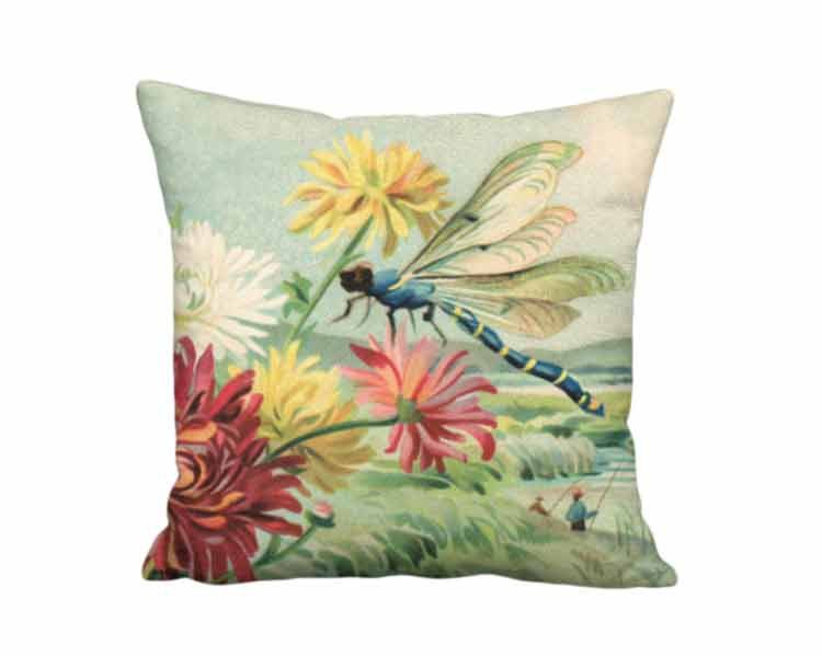 Tropical Chrysanthemum Pillow 32x32