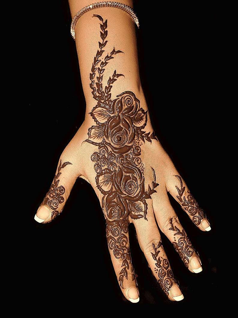 Indian Wedding Henna Tattoos: Pin By She.com.pk On Mehndi Designs