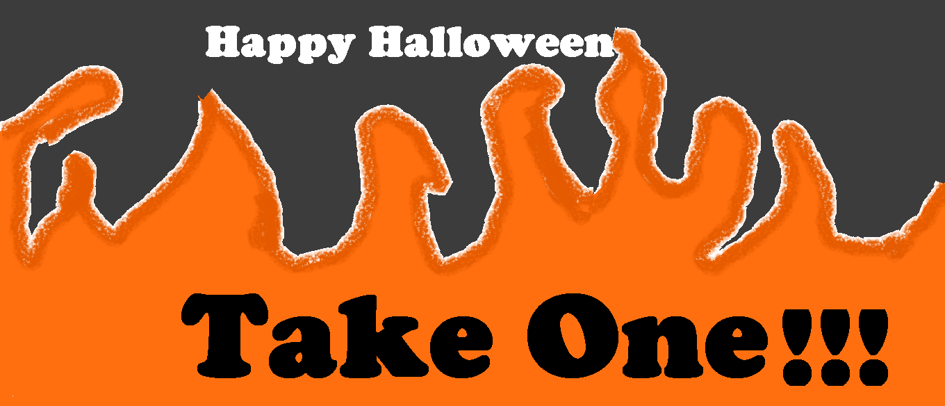 A take one sign for halloween my drawings pinterest more