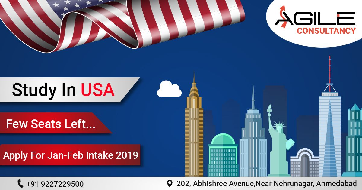 USA Student Visa Consultants in Ahmedabad, Study in USA