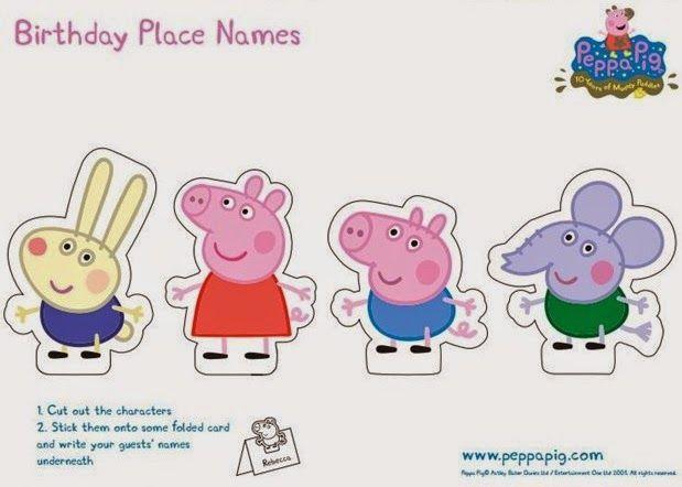 Oh My Fiesta! In English: Peppa Pig: Free Printable Party Mini Kit. Peppa  Pig Birthday Party, Peppa Pig Birthday Party Decorations, Peppa Pig Party