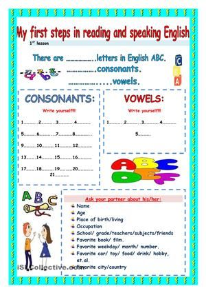 Helping young colleagues. - ESL worksheets   PERSONAL INFORMATION ...