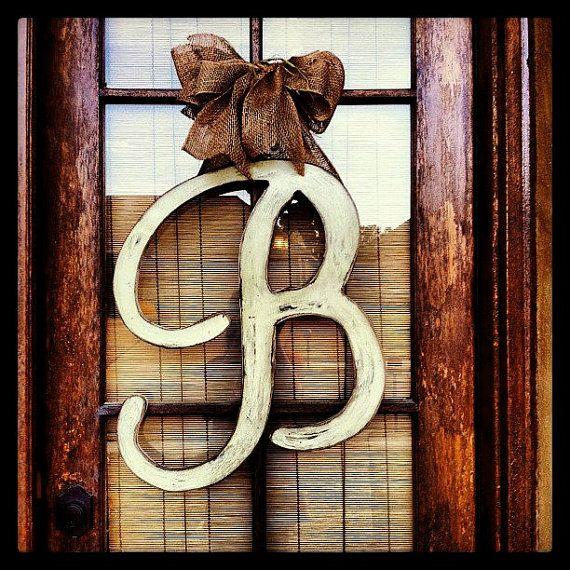 Best 25 Initial Door Hanger Ideas On Pinterest Letter