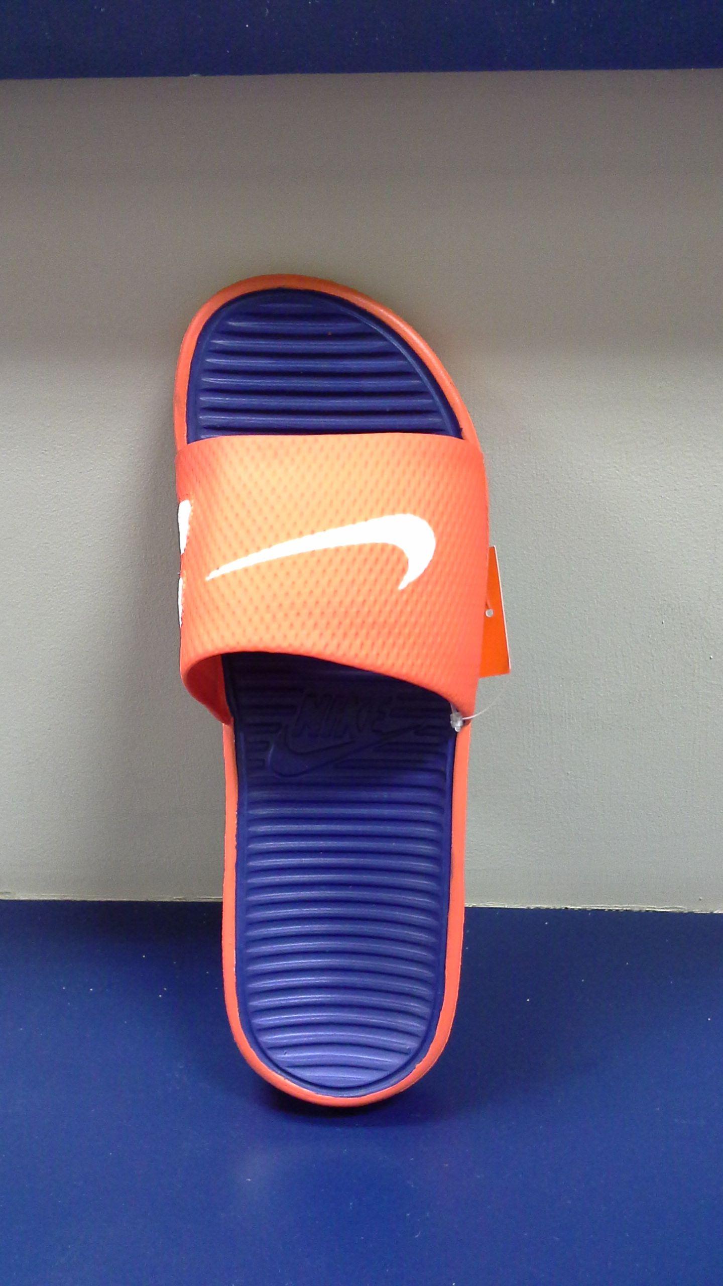 Men's Nike Sandals, men's orange