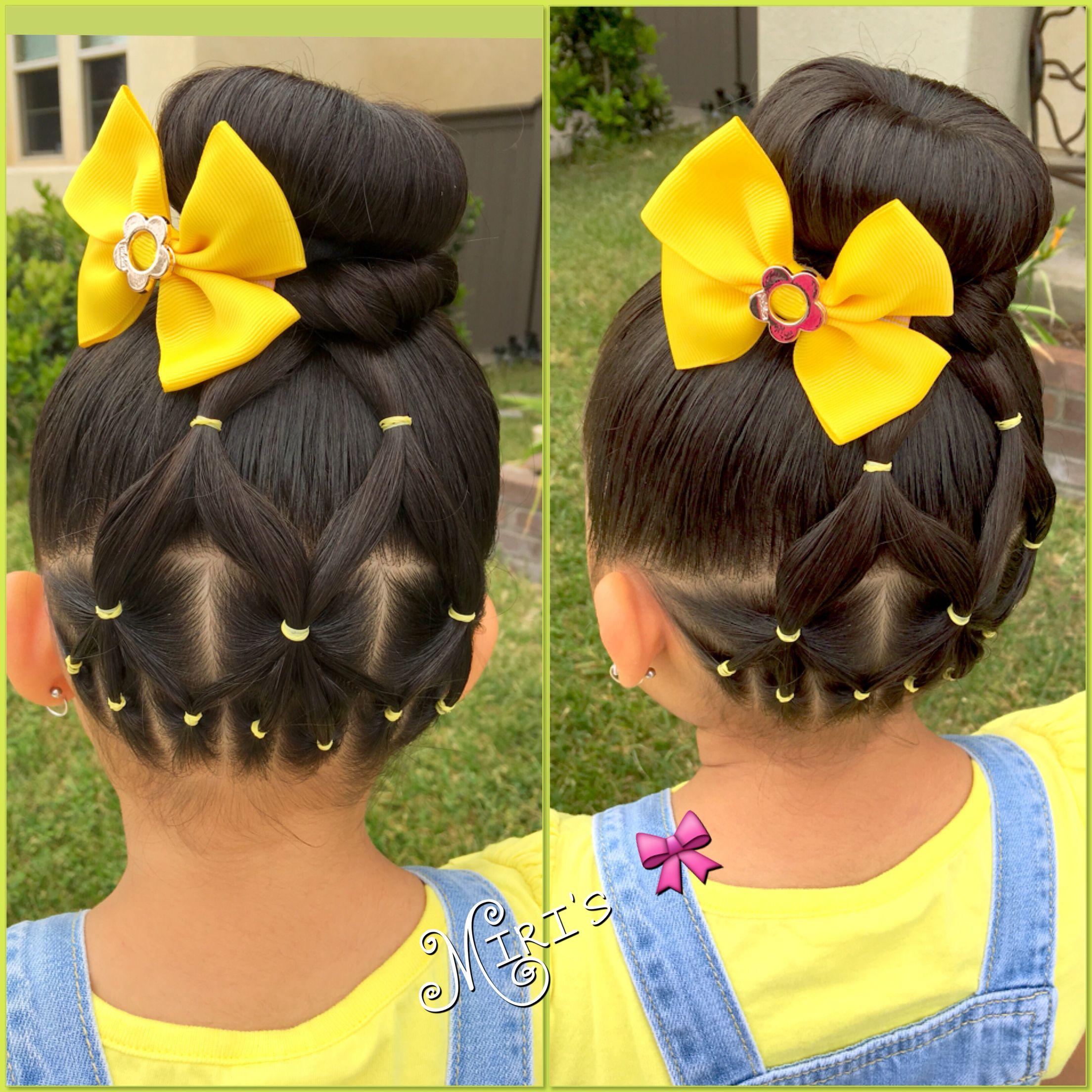 Hair style for little girls hairstyles for babygirl pinterest