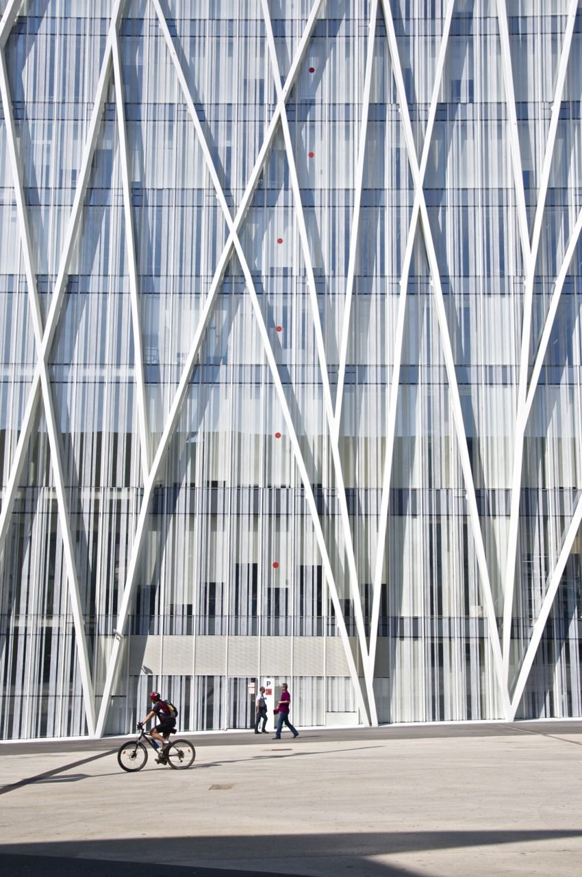Torre diagonal zero zero emba urban patterns fachada - Arquitectura barcelona ...