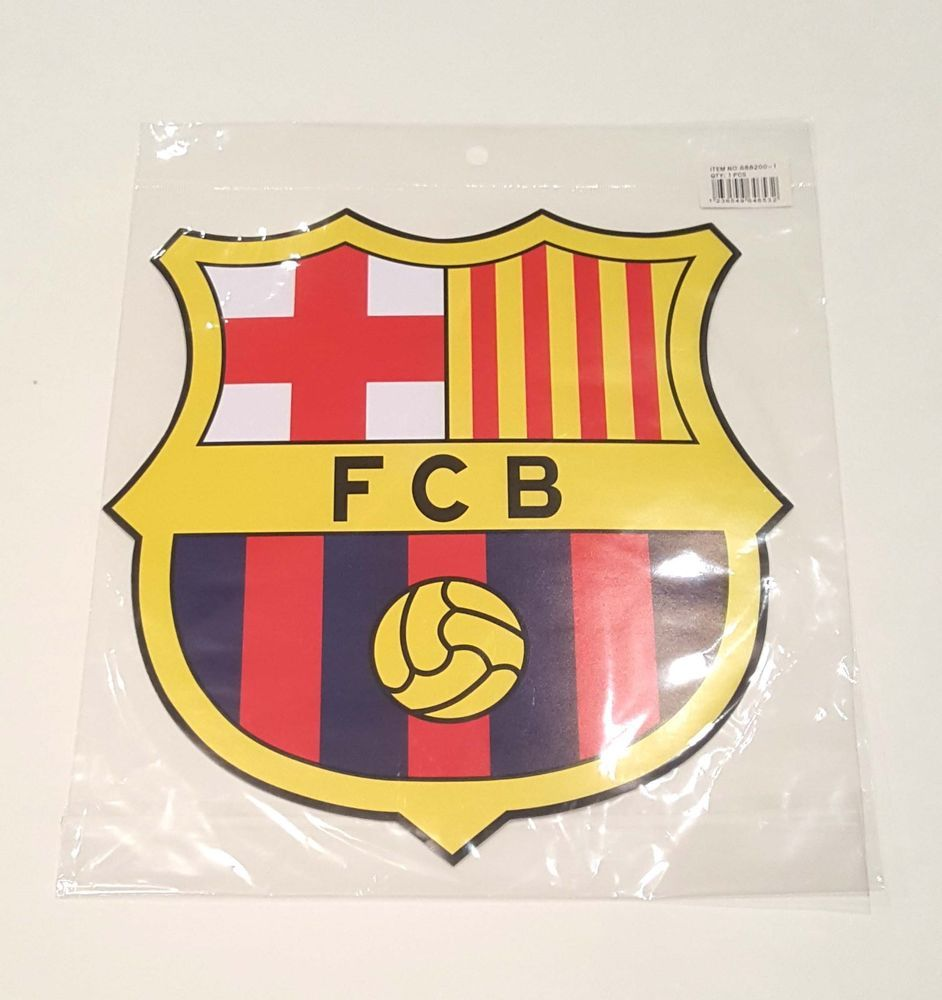 barca fcb logo decal wall sticker art home decor football on wall logo decal id=26867