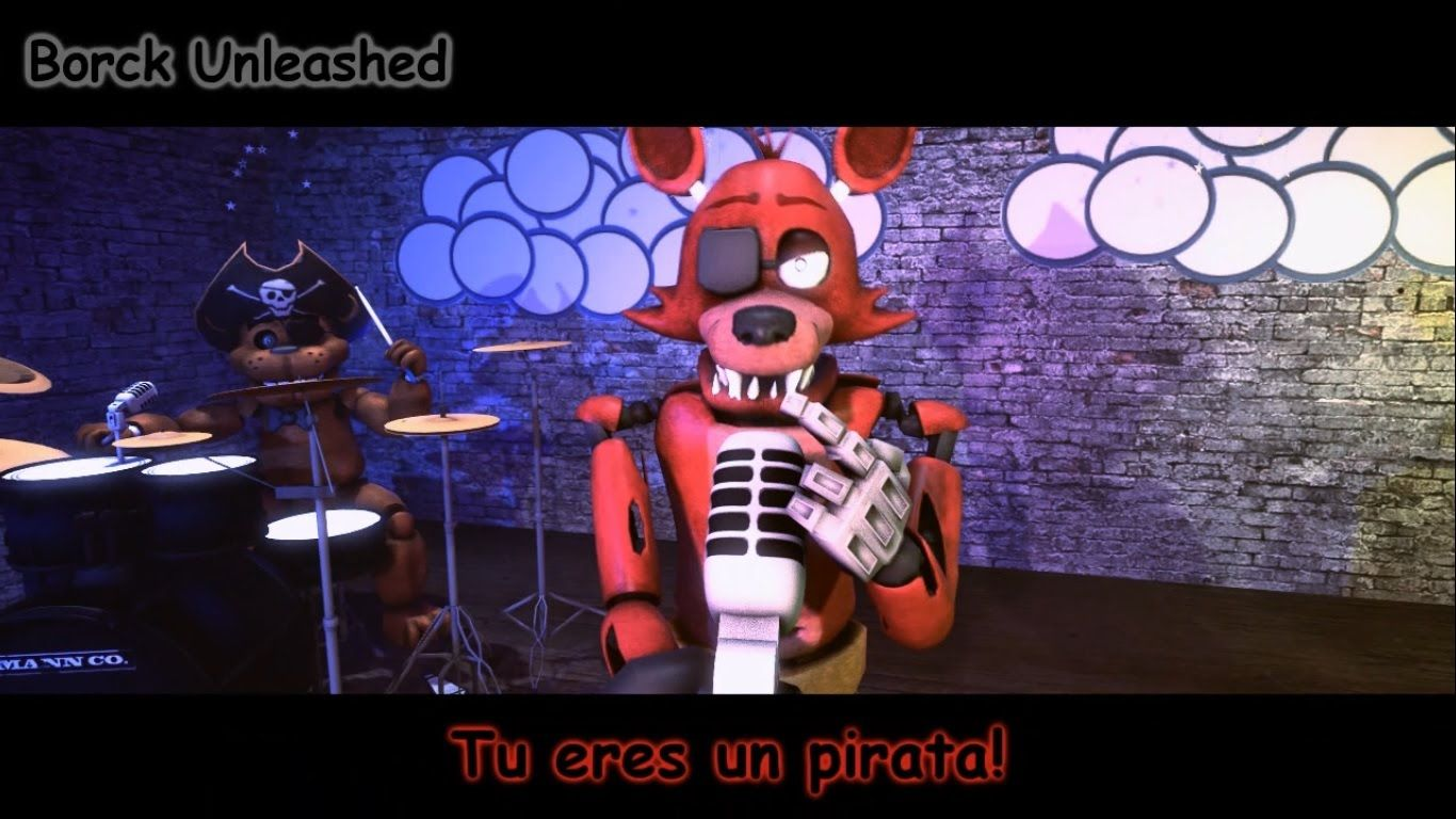 Five nights at freddy's  You are a Pirate  3D Animation