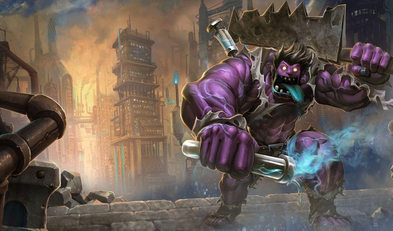 Dr Mundo The Madman of Zaun League of Legends