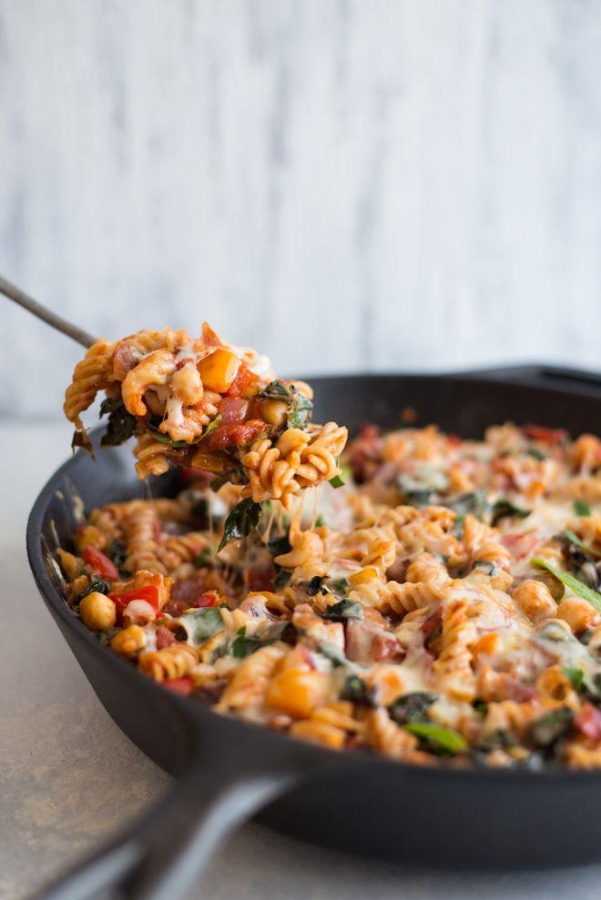 Chickpea Pasta with Smoked Mozzarella   Healthy Nibbles & Bits