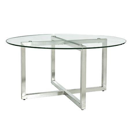 signature essentials round coffee table   home ideas   pinterest