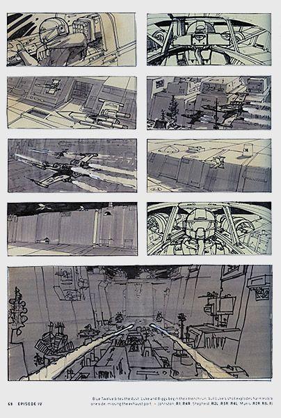 Star Wars Storyboards Original Trilogy Book Star Wars Concept Art Star Wars Artwork Star Wars Art