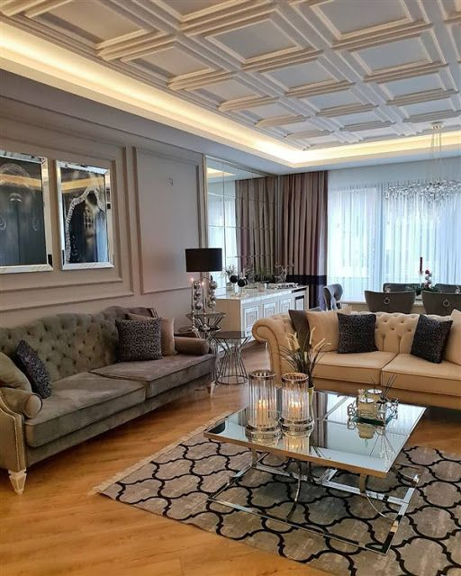 New Home Designs Latest Luxury Homes Interior Decoration: Latest Fashion Chester Seats For Living Room Decoration