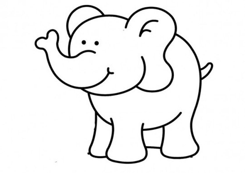 Elefanten Ausmalbilder Ausmalbilder Elefanten Elefant Ausmalbild Elefanten Schablone Ausmalbilder