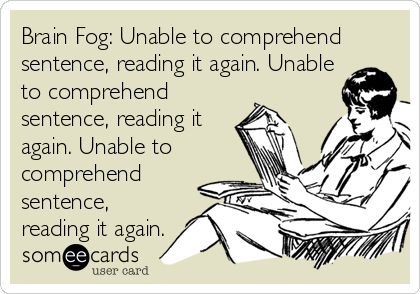 MS brain fog! #multiplesclerosis