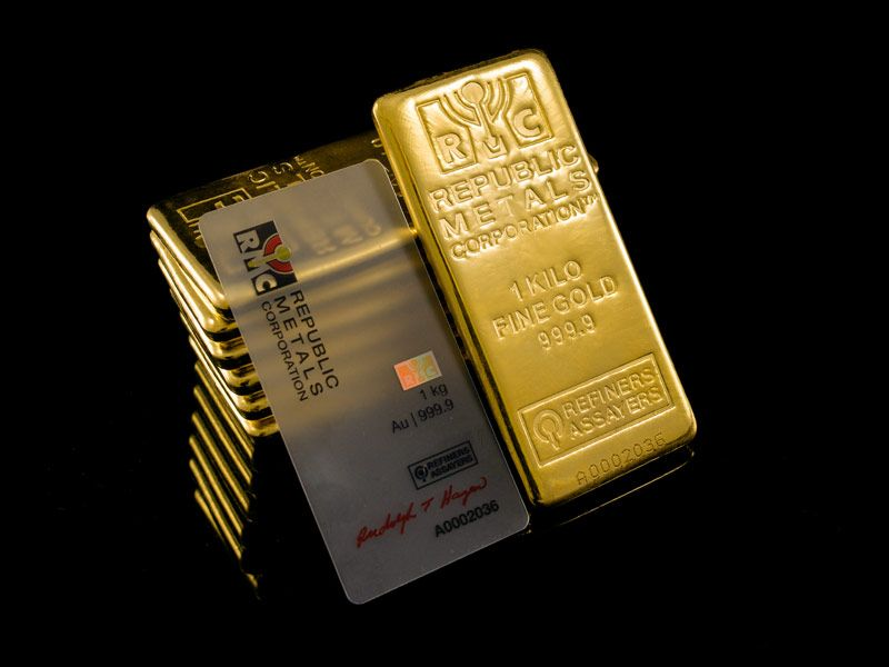 1 Kg Au Bar Gold Bullion I Love Gold Vintage Mens Fashion