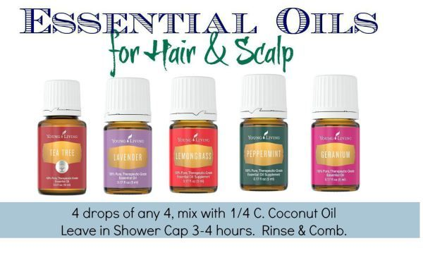 Essential Oils for Hair & Scalp Support
