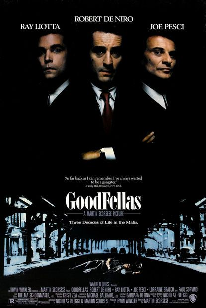 The Most Iconic Movie Posters Goodfellas Movie Posters Gangster