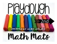 Playdough for 2nd Grade - Want to use playdough for an engaging and FUN way to practice math